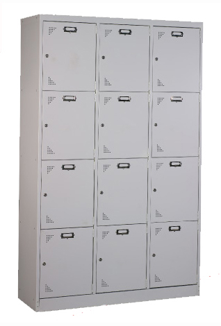 12 Compartments Locker Image