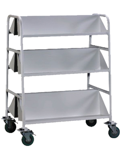 Double Sided Book Trolley B Image