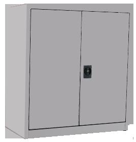 Half Height Swing Door Cabinet Image