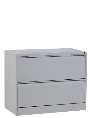 2 Drawers Lateral Filing Cabinet Image