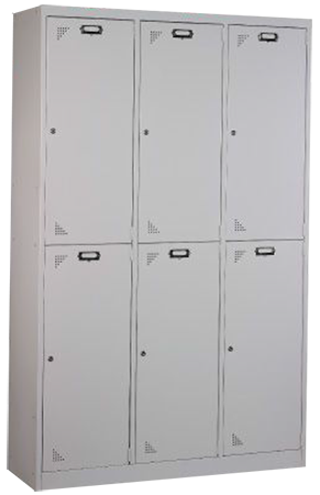 6 Compartments Locker Image