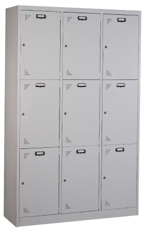 9 Compartments Locker Image
