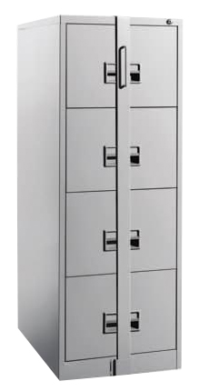 4 Drawers Filling Cabinet with Locking bar Image