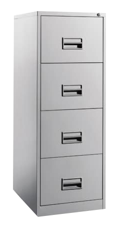 4 Drawers Filling Cabinet with Recess Handle Image