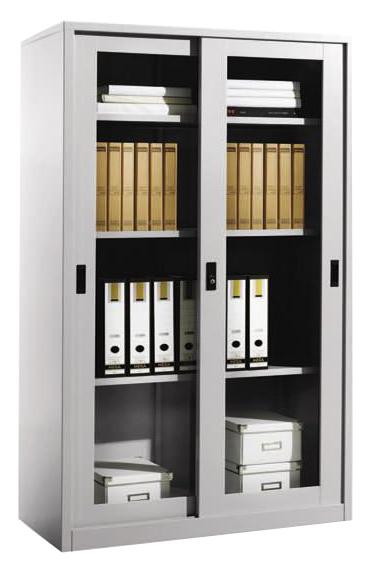 Full Height Glass Sliding Door Cupboard Image