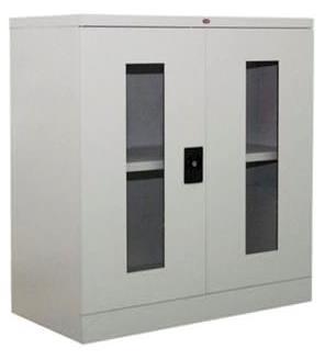 Half Height Glass Swing Door Cupboard Image