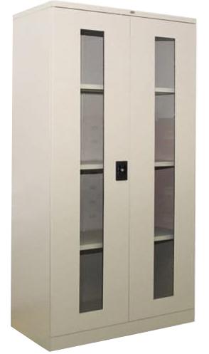 Full Height Glass Swing Door Cupboard Image