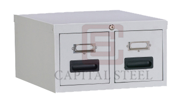 2 Drawers Card Index Cabinet Image