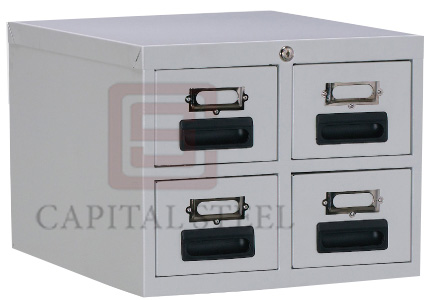 4 Drawers Card Index Cabinet Image