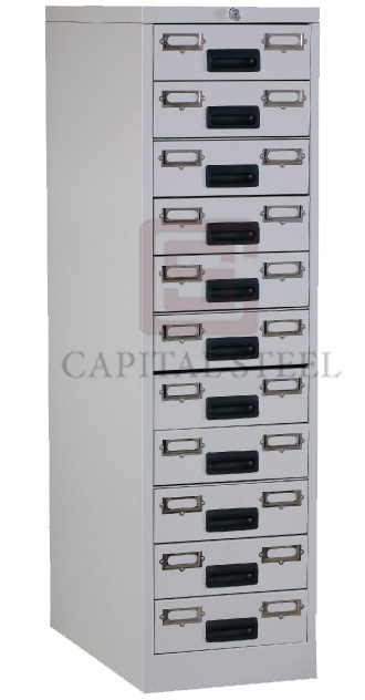 11 Drawers Card Record Cabinet Image